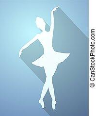 gentil, danseur, icône
