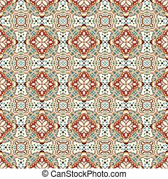 gentle beautiful colored abstract seamless pattern vector illustration