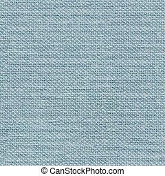 Gentle blue fabric background for your design. Seamless square texture.