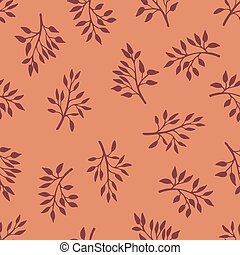 Gentle flower seamless pattern with meadow herbs.