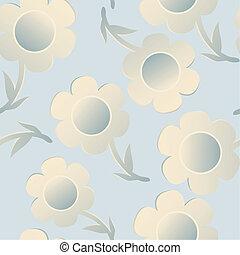 Gentle flowers pattern