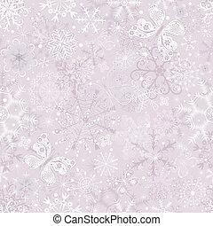 Gentle pink seamless Christmas pattern