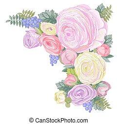 Gentle Ranunculus Flowers
