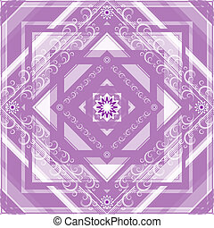 Gentle seamless checkered pattern