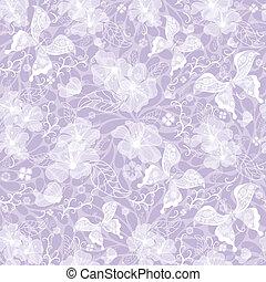 Gentle seamless violet vintage pattern