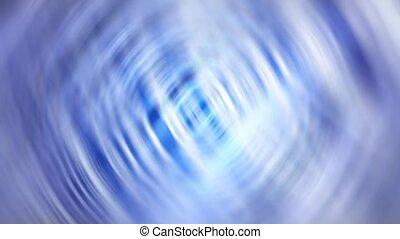 Gentle Spirit Rings - Light spirits slowly move against a...