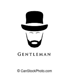 Gentleman with beard and in hat.