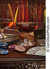 Gentlemans Club - Brandy - Brandy glasses (brandy snifter)...
