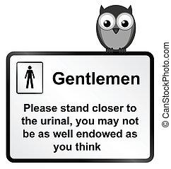 gents, urinal