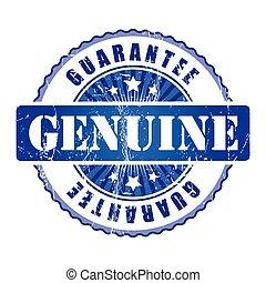 Genuine  Guarantee Stamp.
