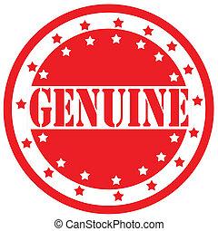 genuine-label
