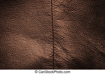 genuine leather texture - special toned and vignetting, ...