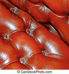 Genuine leather texture. Vector