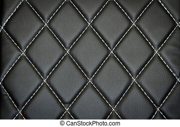 Genuine leather upholstery background for a luxury ...