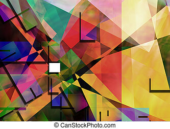 Geometric Abstract