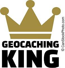 geocaching, koning