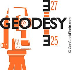 Geodesy symbol for business - Geodesy and cartography symbol...