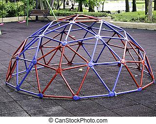 geodetico, colorito, cupola