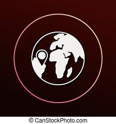 geológico, icono