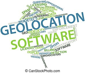 Geolocation software