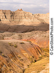 geologia, dondolare formazioni, badlands parco nazionale,...