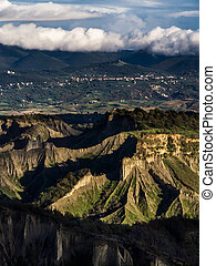 Geological formations in Italy