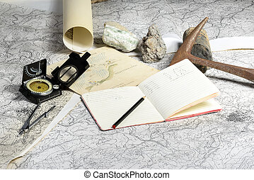 geologisch, erkundungstour