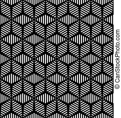 geométrico, pattern., seamless