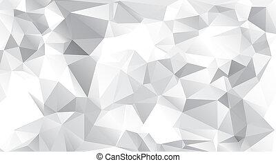 geométrico, plano de fondo, diamante