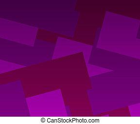 geometri, abstrakt, bakgrund, violett
