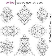 geometria, komplet, poświęcony