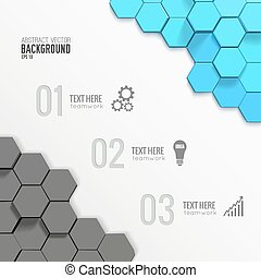 geometriai, infographic, ügy, sablon