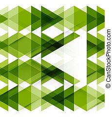 geometriai, modern, elvont, háttér, sablon