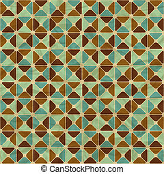 geometriai, pattern., seamless, retro