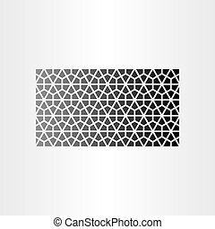 geometric abstract background black pattern