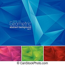 Geometric abstract background series, file format EPS 10