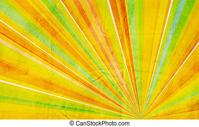Geometric abstract background yello - Abstract background...