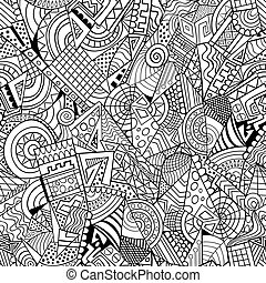 Geometric abstract decorative pattern
