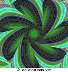 Geometric abstract fractal design background