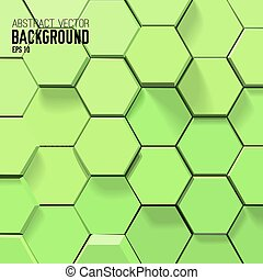 Geometric Abstract Light Background