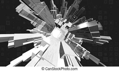 Geometric Abstract Loop