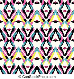geometric abstract seamless pattern for your design