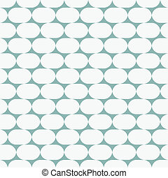 Geometric abstract seamless pattern. Vector illustration