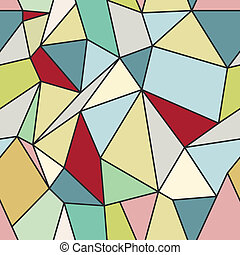Geometric Abstract Seamless Polygonal Background