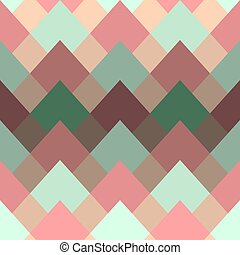 Geometric abstract seamless vector pattern with gradient.