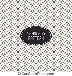 Geometric abstract striped seamless pattern with chevron. Paper for scrapbook. Vector illustration. Background. Tiling. Stylish graphic texture for design, wallpaper.