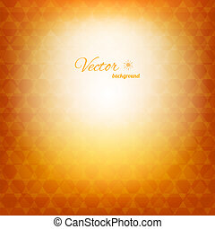 Geometric abstract sunny background