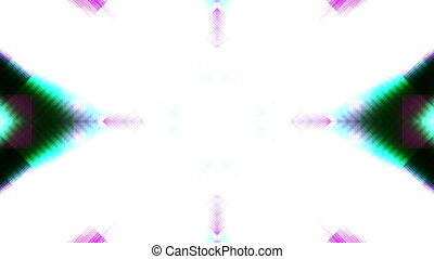 Geometric and particles VJ looping abstract animated background third in series
