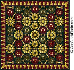 arabic ornament - geometric arabic ornament