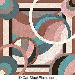 geometric background - geometric art deco background -...